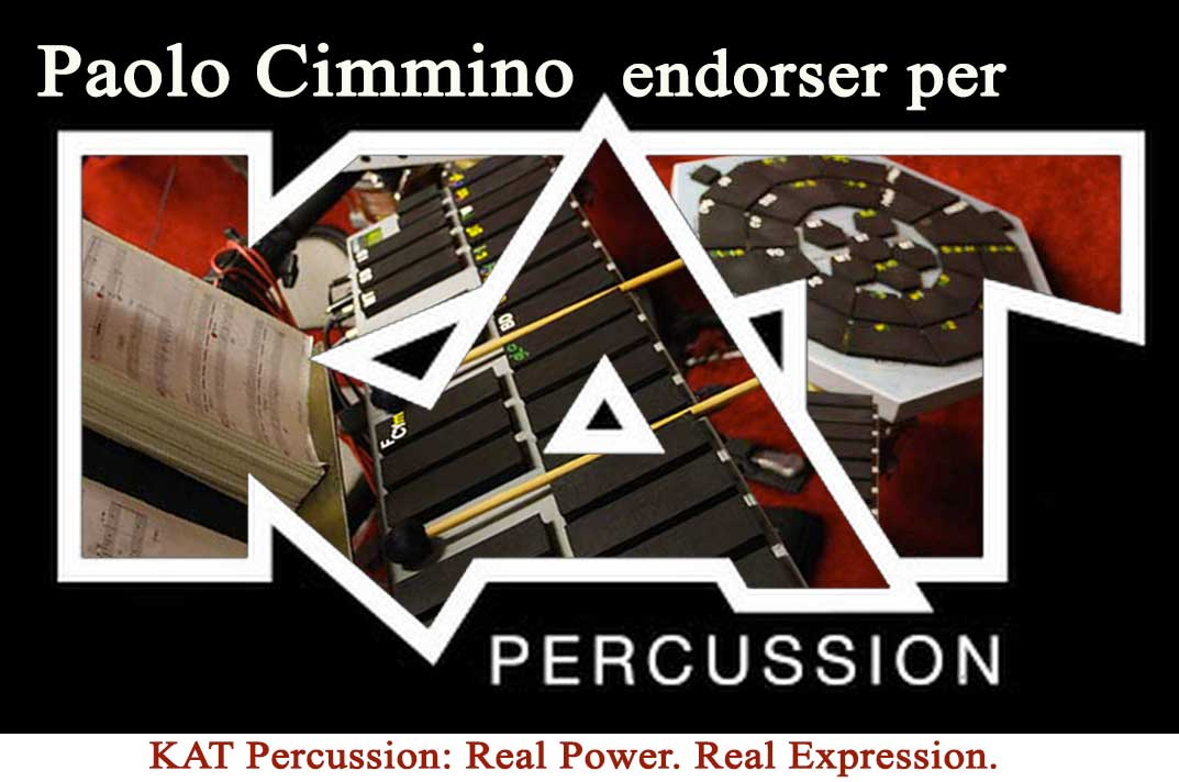 KAT percussion endorser